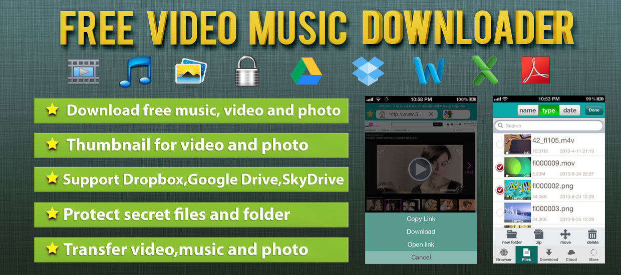 AppShrink | Free Music Video Downloader Pro for iOS – App Review